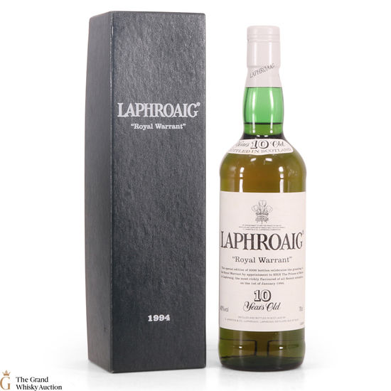 Laphroaig - 10 Year Old - 1994 Royal Warrant