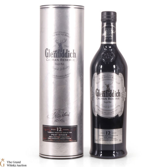 Glenfiddich - 12 Year Old - Caoran Reserve