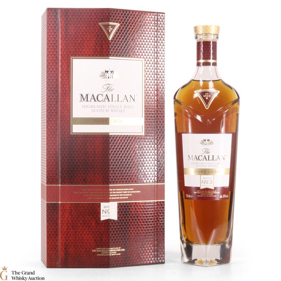 Macallan - Rare Cask Batch No.3 - 2018