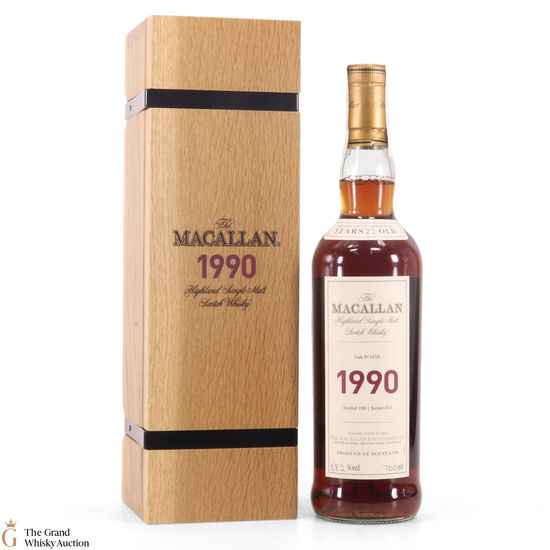 Macallan - 22 Year Old - 1990 Fine & Rare