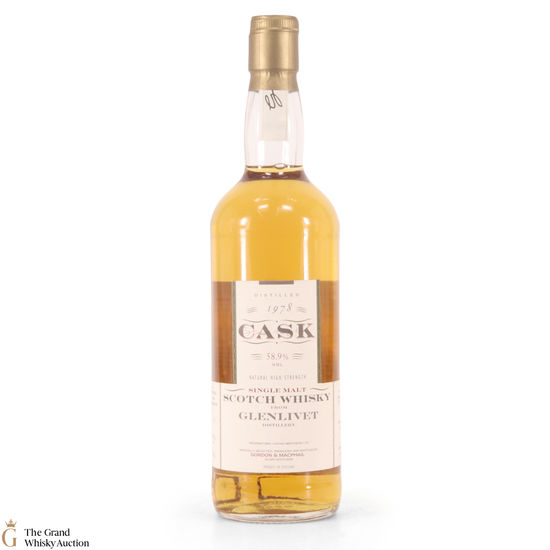 Glenlivet - 1978 Gordon and Macphail Cask Strength