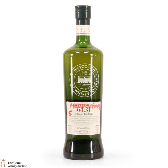 SMWS - 64.31 - Mannochmore - 10 Year Old
