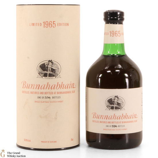 Bunnahabhain - 35 Year Old - 1965 Single Cask