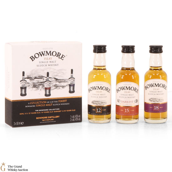Bowmore - The Bowmore Collection (3 x 5cl)