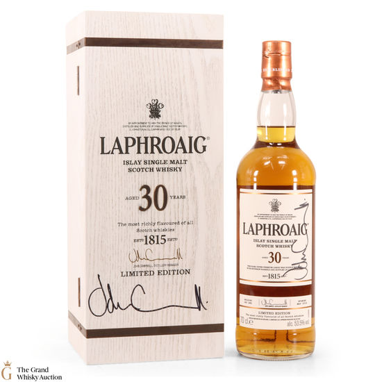 Laphroaig - 30 Year Old (Signed)