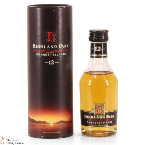 Highland Park - 12 Year Old - 5cl (Old style)