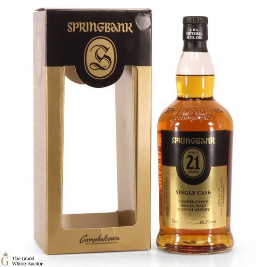 Springbank - 21 Year Old -  Single Cask - Societe Dugas