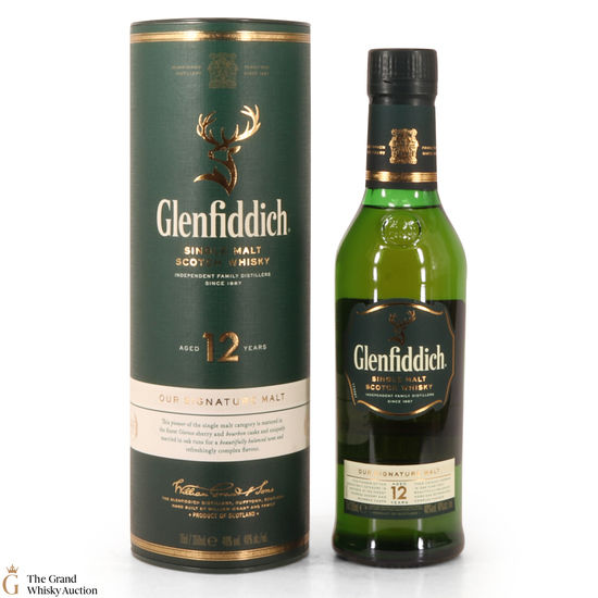 Glenfiddich - 12 Year Old (35cl)