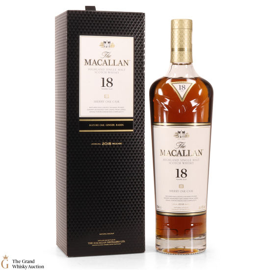 Macallan - 18 Year Old Sherry Oak (2018)