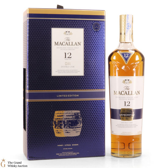 Macallan - 12 Year Old - Double Cask - Limited Edition (With 2 x Glasses)