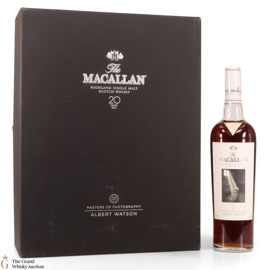 Macallan - 20 Year Old -  Masters of Photography - Albert Watson
