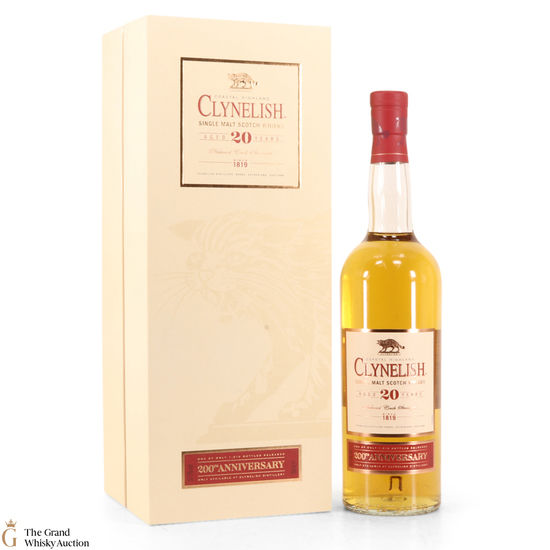 Clynelish - 20 Year Old - 200th Anniversary (Distillery Exclusive)