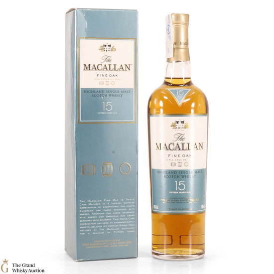 Macallan - 15 Year old - Fine Oak (Import)