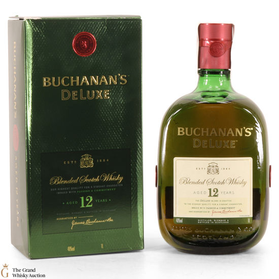 Buchanan's - DeLuxe - 12 Year Old