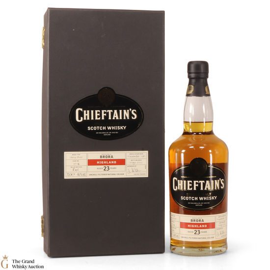 Brora - 1981 Chieftain's 23 Year Old