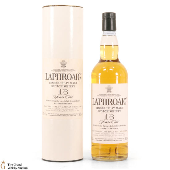 Laphroaig - 13 Year Old 1992 - Single Cask - Feis Ile 2005