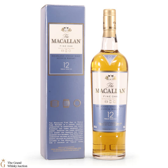 Macallan - 12 Year Old - Fine Oak