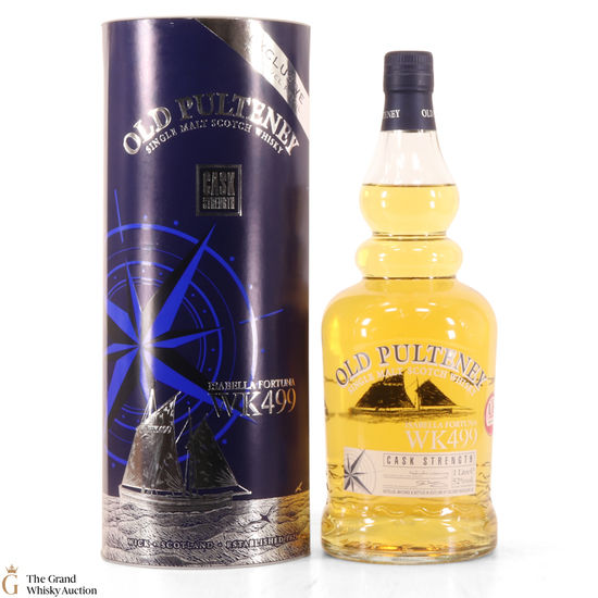 Old Pulteney - Isabella Fortuna WK499 - First Release (1L)