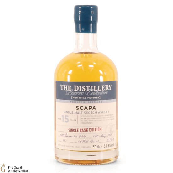 Scapa - 15 Year Old 2001 - Single Cask 663