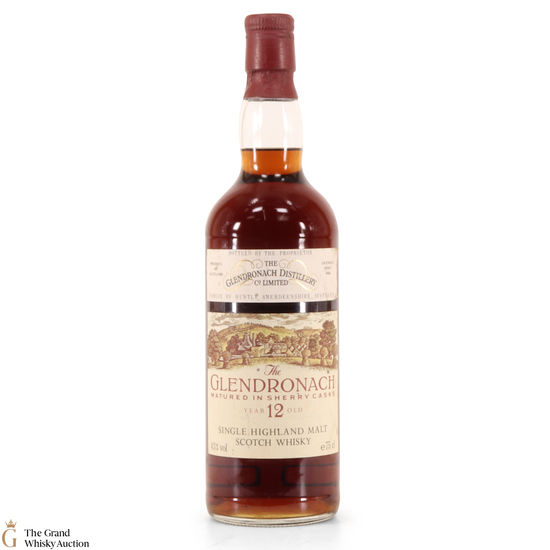 Glendronach - 12 Year Old Sherry Casks 1980s