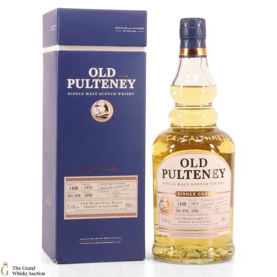Old Pulteney - Single Cask 1448 W Club.