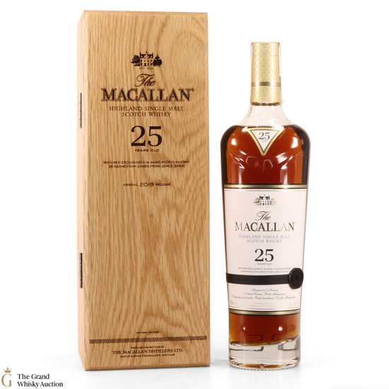 Macallan - 25 Year Old - Sherry Oak - 2019