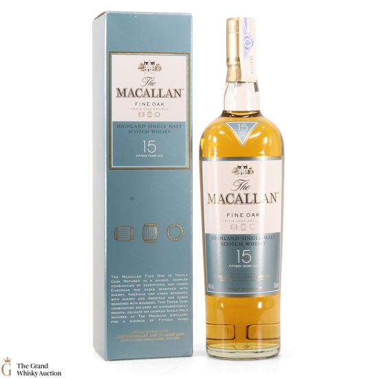 Macallan - 15 Year old - Fine Oak