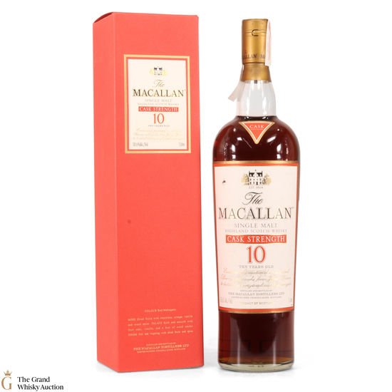 Macallan - 10 Year Old - Cask Strength - 1L, 58.6%