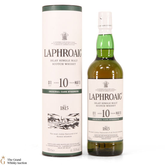 Laphroaig - 10 Year Old - Original Cask Strength Batch #011