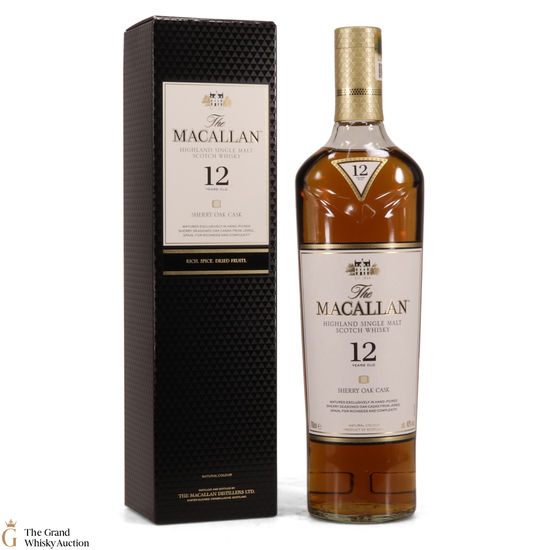 Macallan - 12 Year Old Sherry Oak