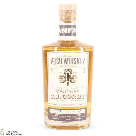 J.J. Corry - Anfa Irish Whiskey & Drinks By The Dram 50%