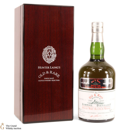 Bowmore - 30 Year Old - Hunter Laing Old & Rare 2019