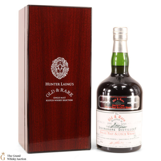 Springbank - 23Year Old - Hunter Laing Old & Rare 2019
