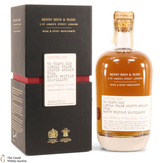 North British - 1962 50 Year Old - Exceptional Casks - Berry Brothers & Rudd