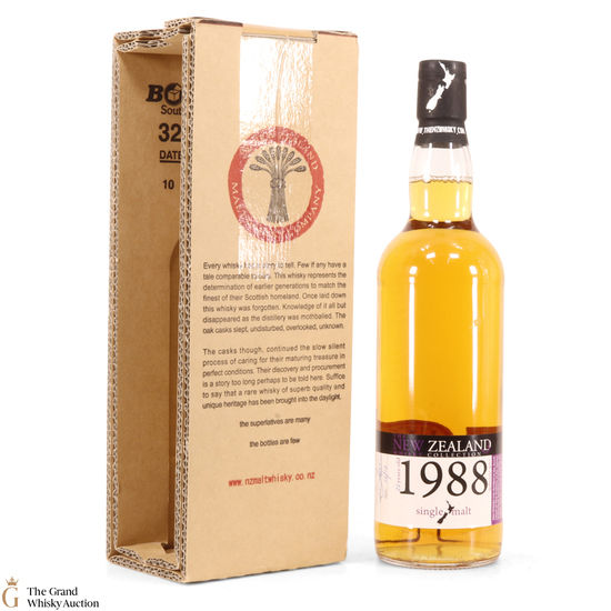 New Zealand - 1988 23 Year Old Single Cask #72
