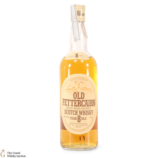 Old Fettercairn - 8 Year Old (1980s) 75cl