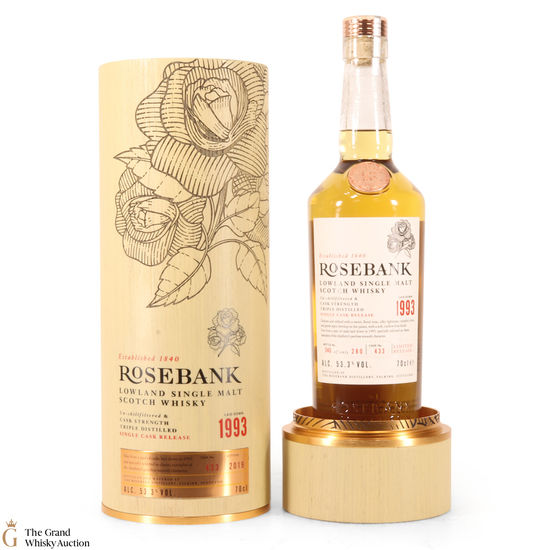 Rosebank - 27 Year Old Cask #433 53.3%
