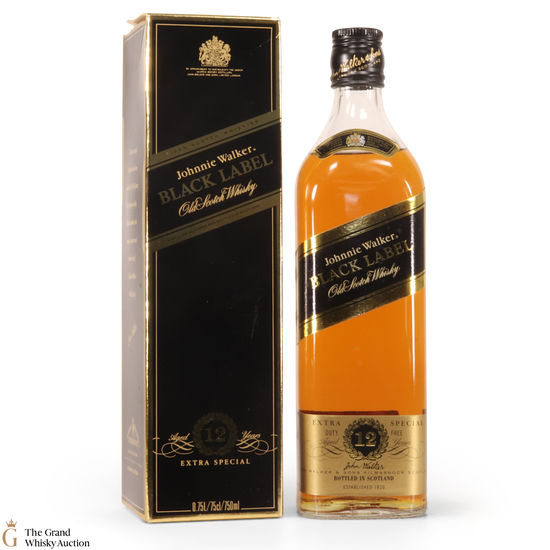Johnnie Walker - 12 Year Old - Black Label