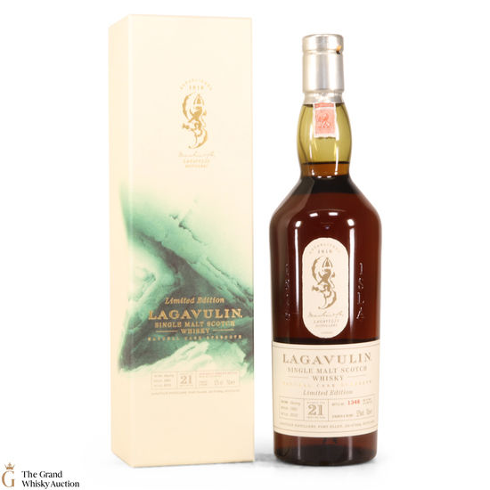 Lagavulin - 21 Year Old 1991-2012 Cask Strength