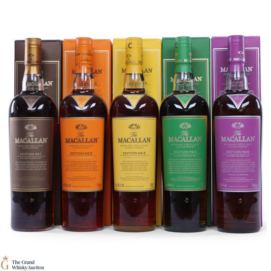Macallan - Edition 1,2,3,4,5