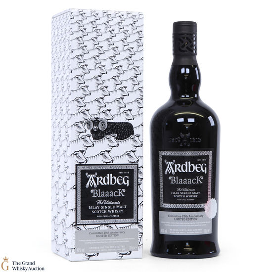 Ardbeg Blaaack - Committee 20th Anniversary - Limited Edition