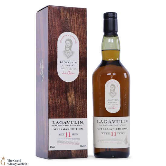 Lagavulin - 11 Year Old  - Offerman Edition