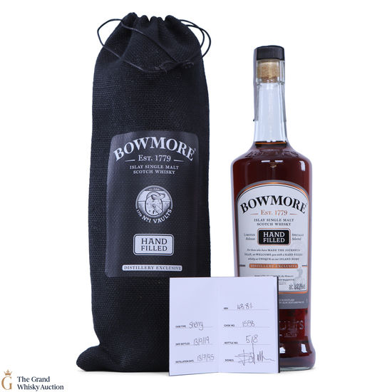 Bowmore - 24 Year Old - 2019 Hand Fill - Sherry Cask #1558