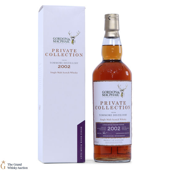 Tormore - 2002 Gordon & MacPhail - Private Collection