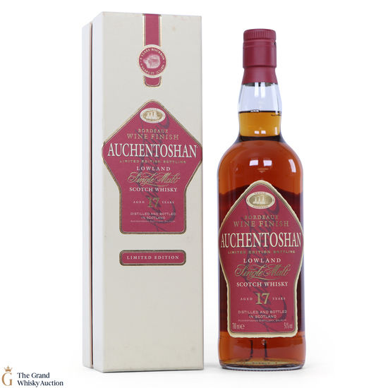 Auchentoshan - 17 Year Old - Bordeaux Wine Finish