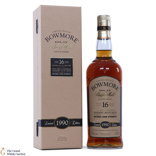 Bowmore - 16 Year Old - 1990 - Sherry Cask