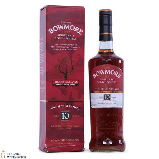 Bowmore - 10 Year Old Devil's Cask Inspired Small Batch II