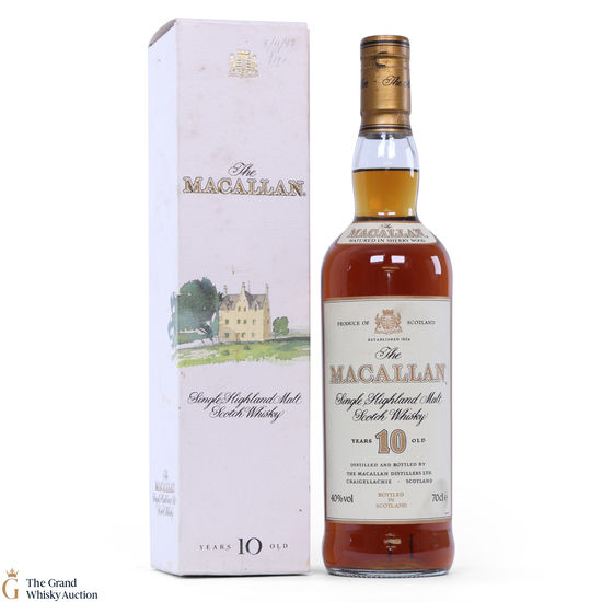 Macallan - 10 Year Old (1980s)