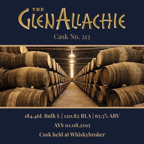 Glenallachie - 2015 Bourbon Barrel #213 65.7% | Held In Bond