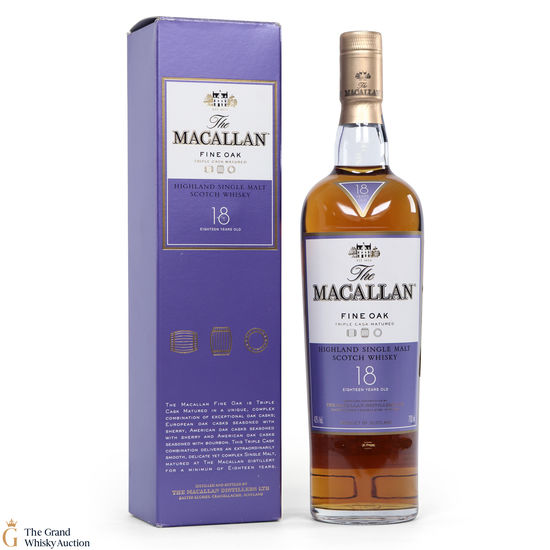 Macallan - 18 Year Old - Fine Oak